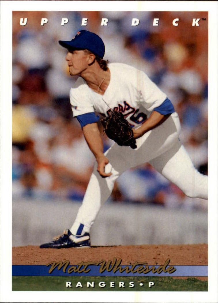 1993 Upper Deck #390 Matt Whiteside RC