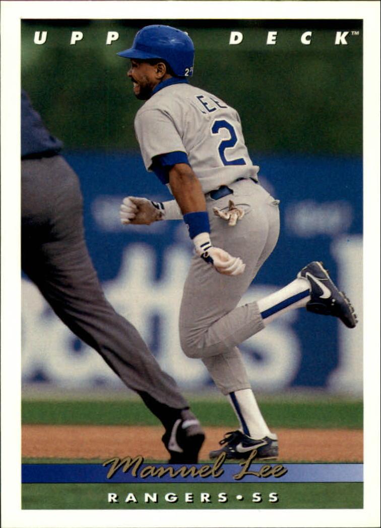 1993 Upper Deck #637 Manuel Lee