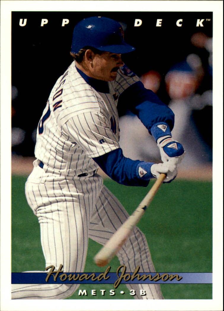1993 Upper Deck #676 Howard Johnson