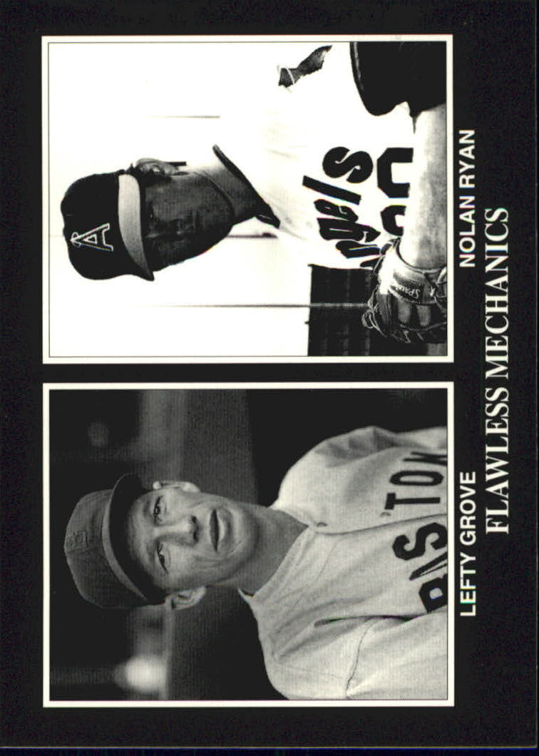 1993 Conlon TSN #930 Lefty Grove/with Nolan Ryan
