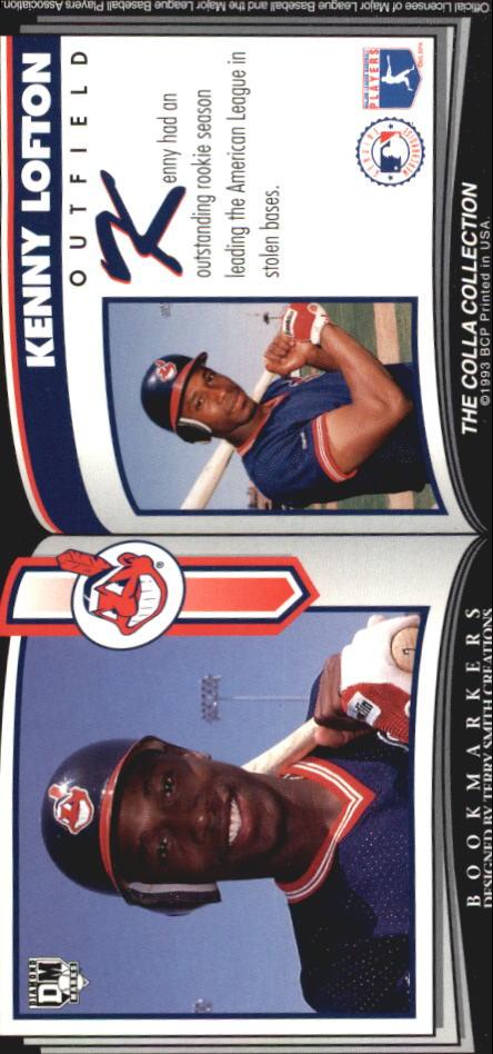 1993 Diamond Marks #65 Kenny Lofton back image