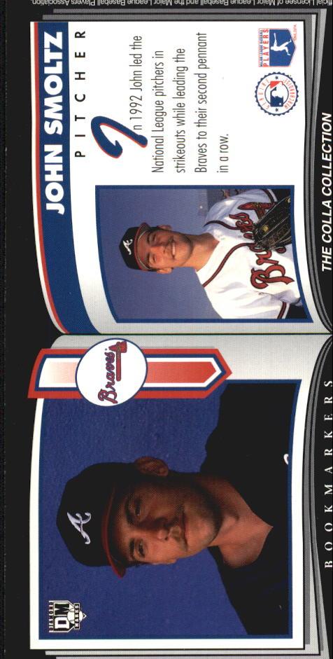 1993 Diamond Marks #100 John Smoltz back image