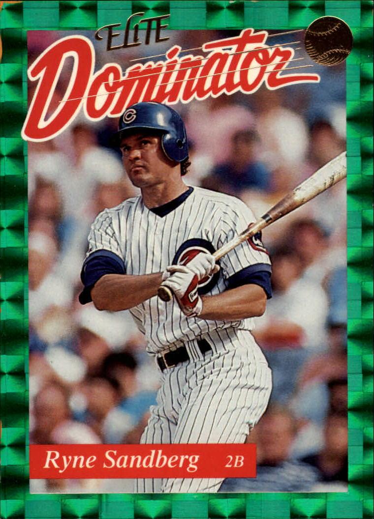 1993 Donruss Elite Dominators #1 Ryne Sandberg