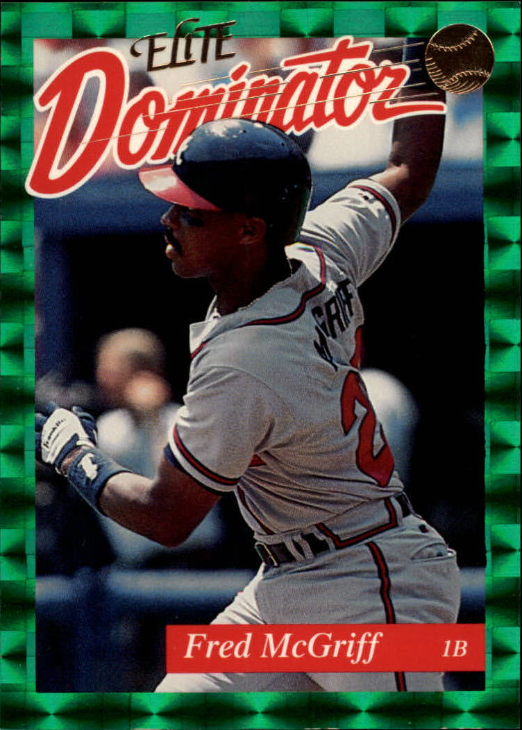 1993 Donruss Elite Dominators #2 Fred McGriff