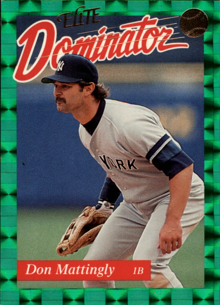 1993 Donruss Elite Dominators #6 Don Mattingly