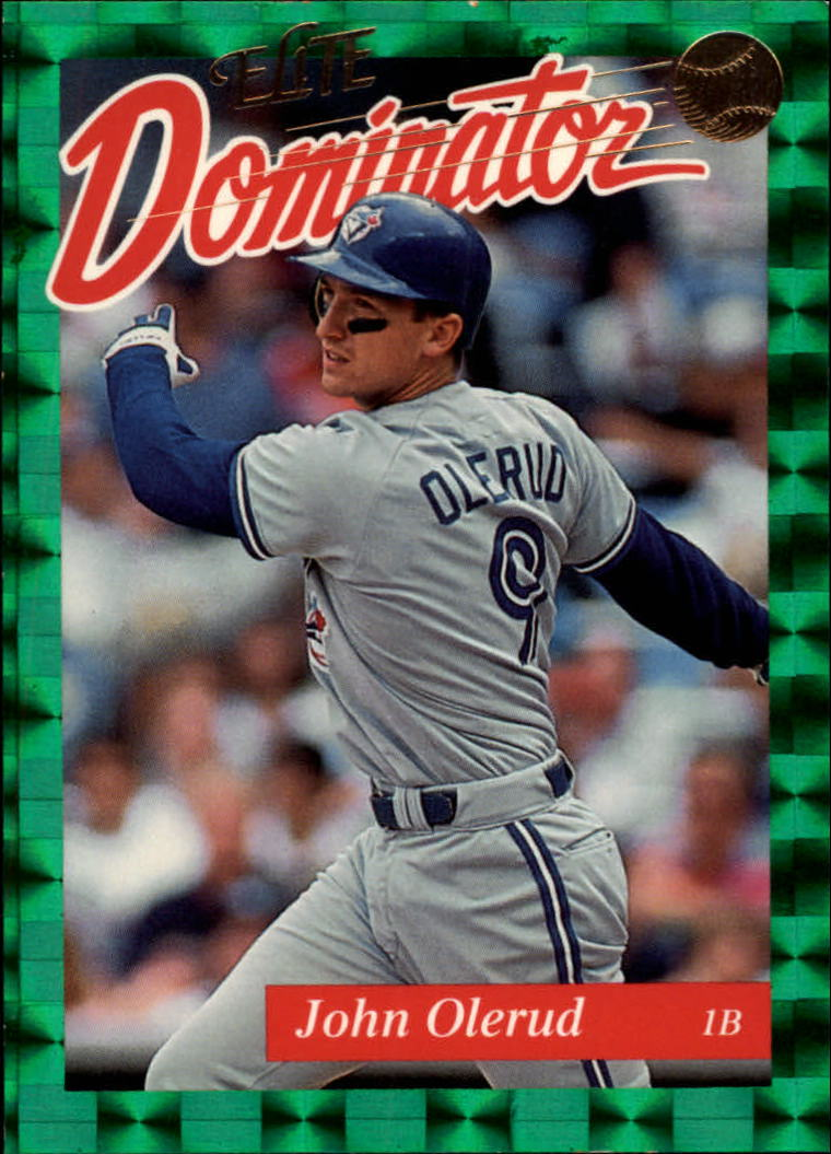1993 Donruss Elite Dominators #9 John Olerud