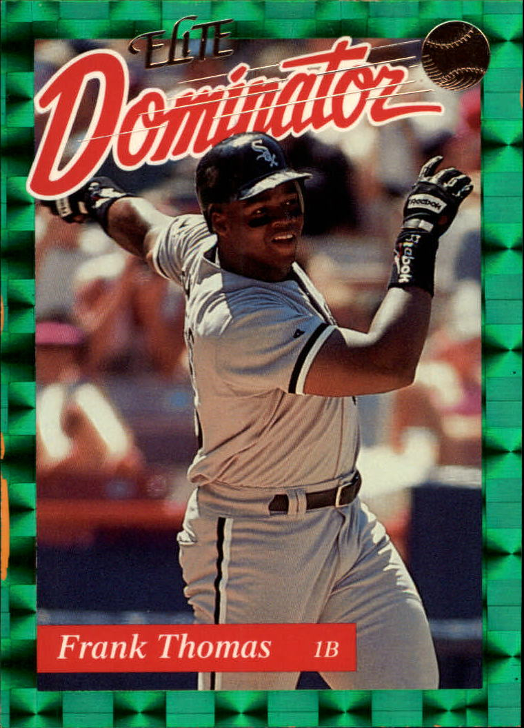 1993 Donruss Elite Dominators #13 Frank Thomas