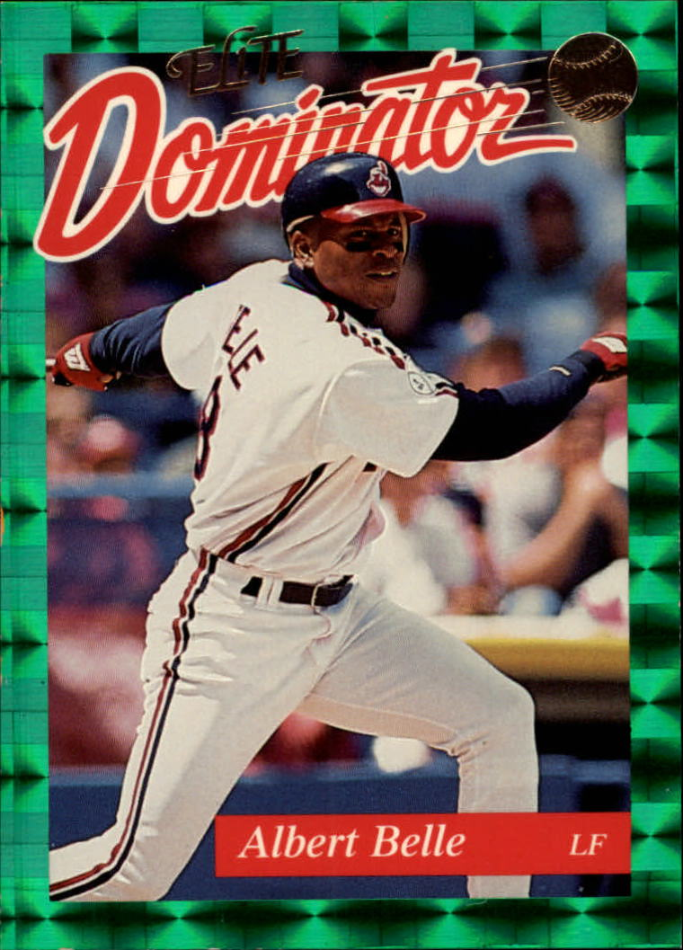 1993 Donruss Elite Dominators #17 Albert Belle