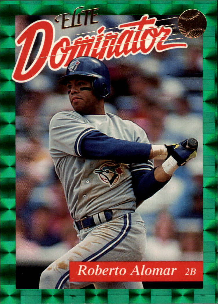 1993 Donruss Elite Dominators #20 Roberto Alomar