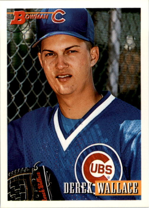 1993 Bowman #4 Derek Wallace RC