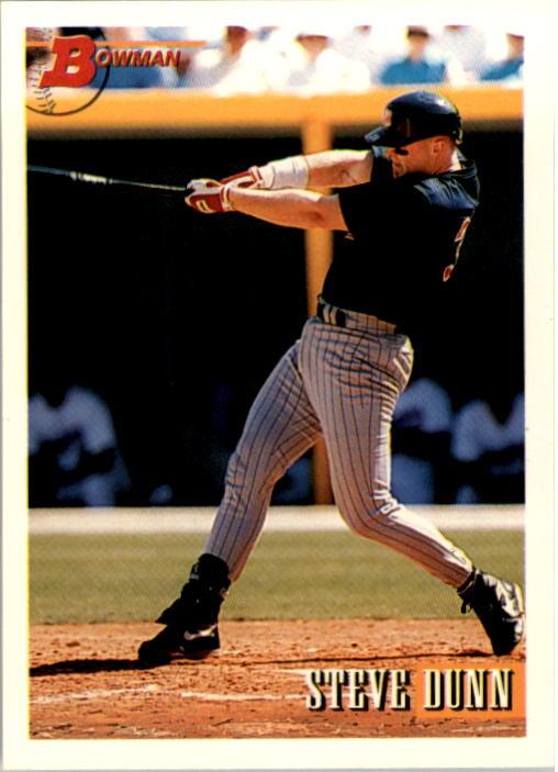 1993 Bowman #17 Steve Dunn RC