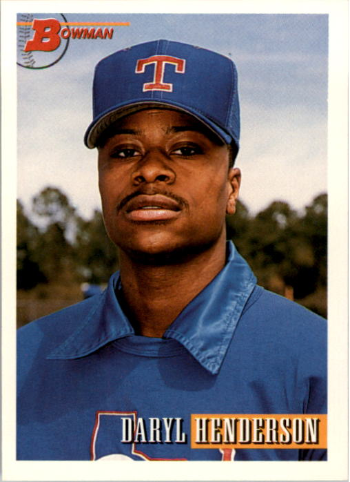 1993 Bowman #25 Daryl Henderson RC
