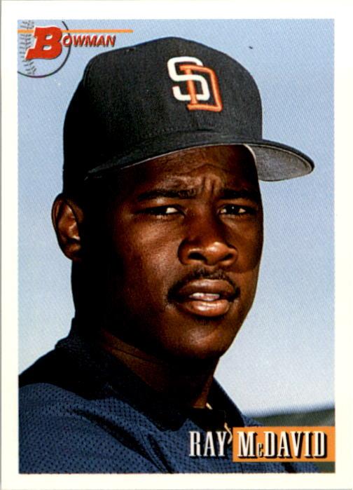1993 Bowman #26 Ray McDavid RC