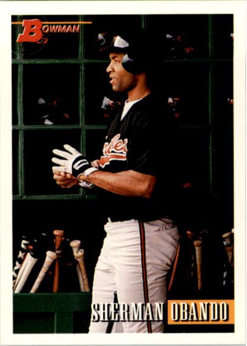 1993 Bowman #29 Sherman Obando RC