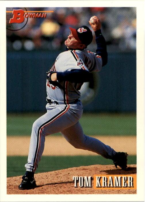 1993 Bowman #37 Tom Kramer RC