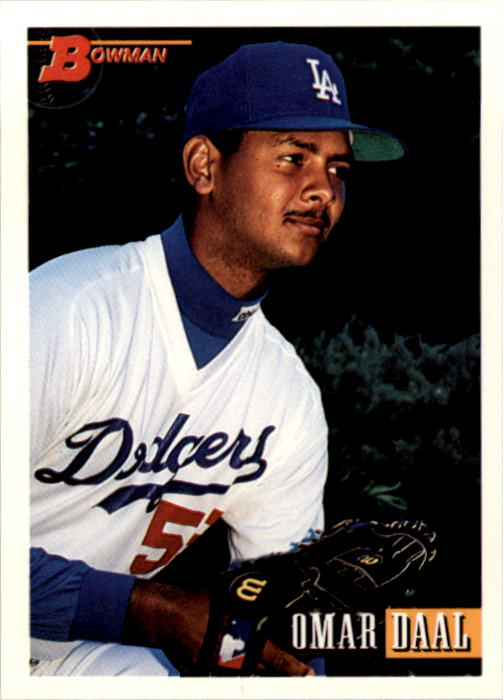 1993 Bowman #42 Omar Daal RC