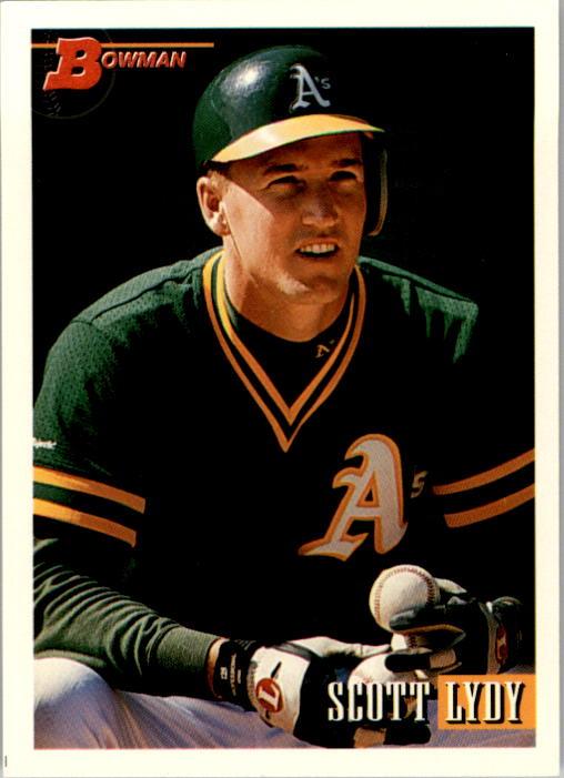 1993 Bowman #49 Scott Lydy RC