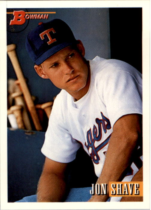 1993 Bowman #59 Jon Shave RC