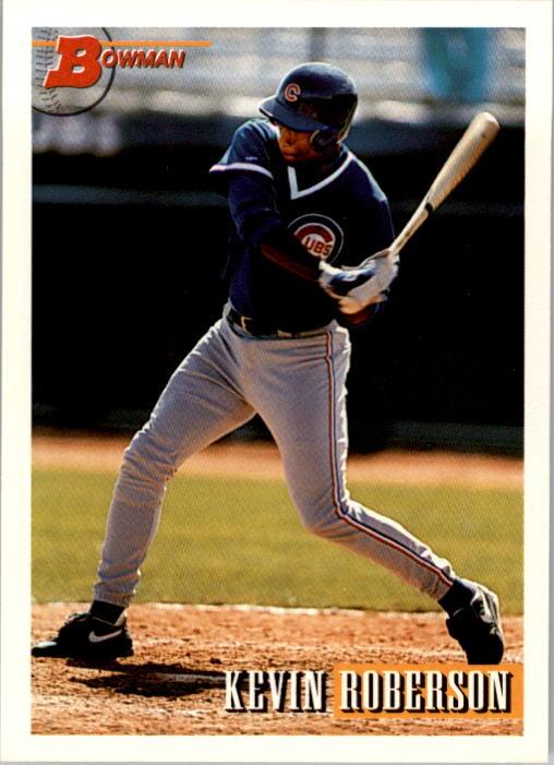 1993 Bowman #60 Kevin Roberson RC
