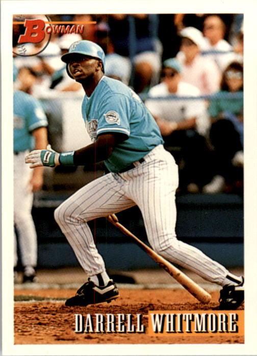 1993 Bowman #206 Darrell Whitmore RC