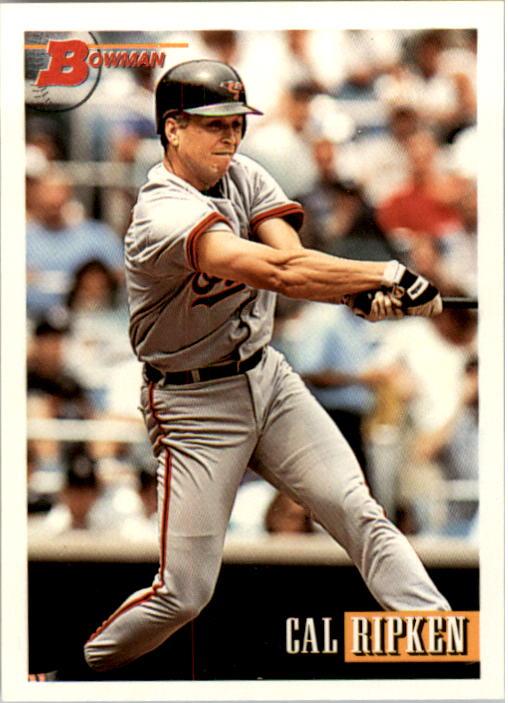 1993 Bowman #225 Cal Ripken