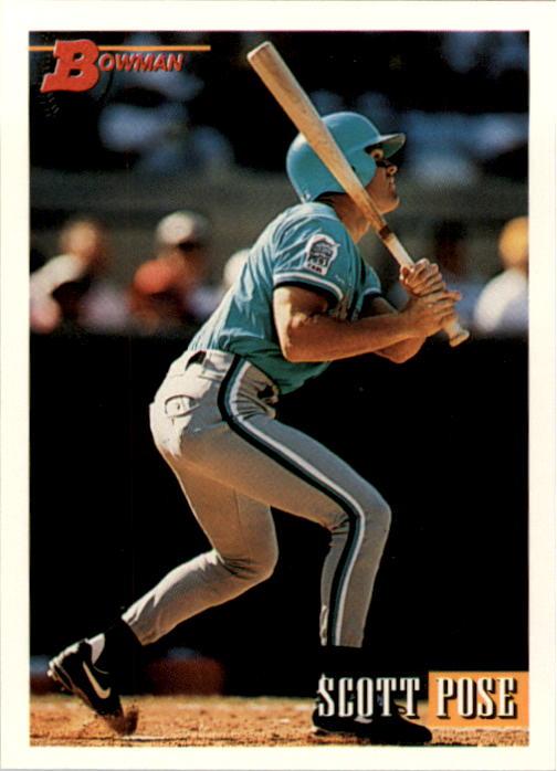 1993 Bowman #318 Scott Pose RC