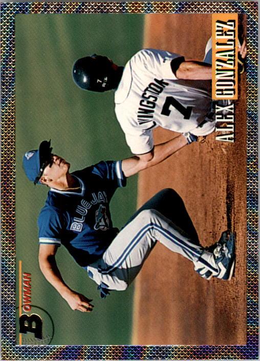 1993 Bowman #374 Alex Gonzalez FOIL