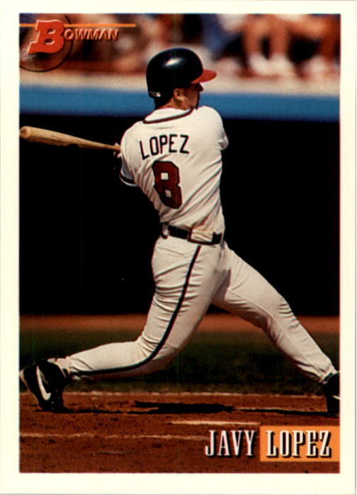 1993 Bowman #466 Javy Lopez