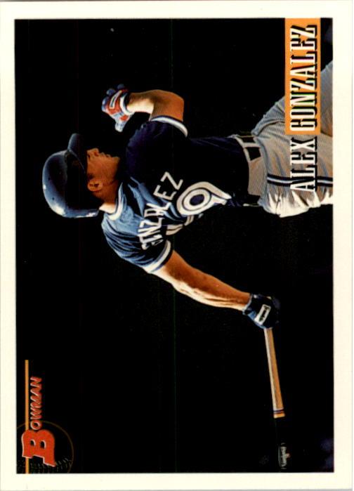 1993 Bowman #603 Alex Gonzalez