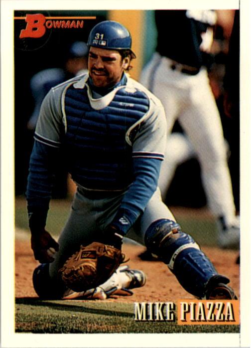 1993 Bowman #646 Mike Piazza