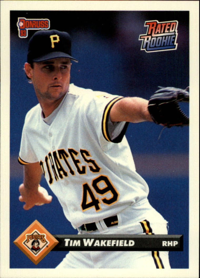 Buy Tim Wakefield Cards Online Tim Wakefield Baseball