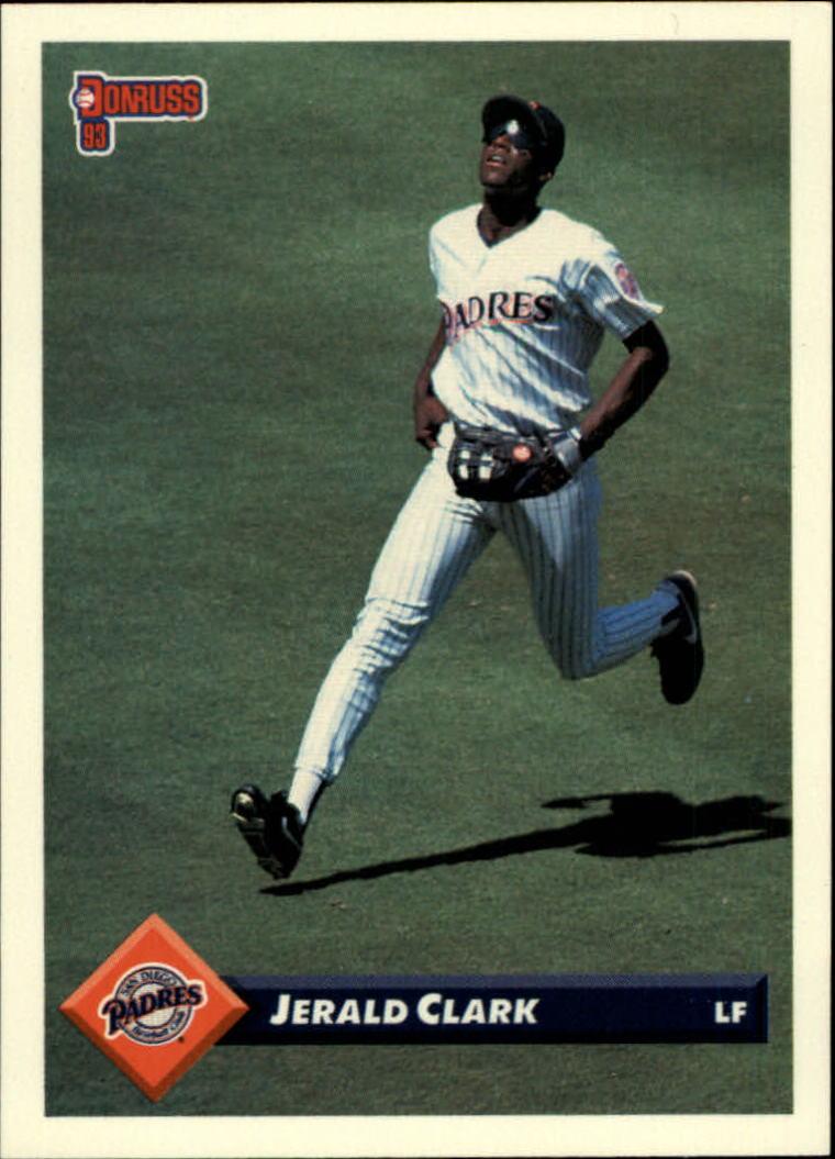 1993 Donruss #74 Jerald Clark