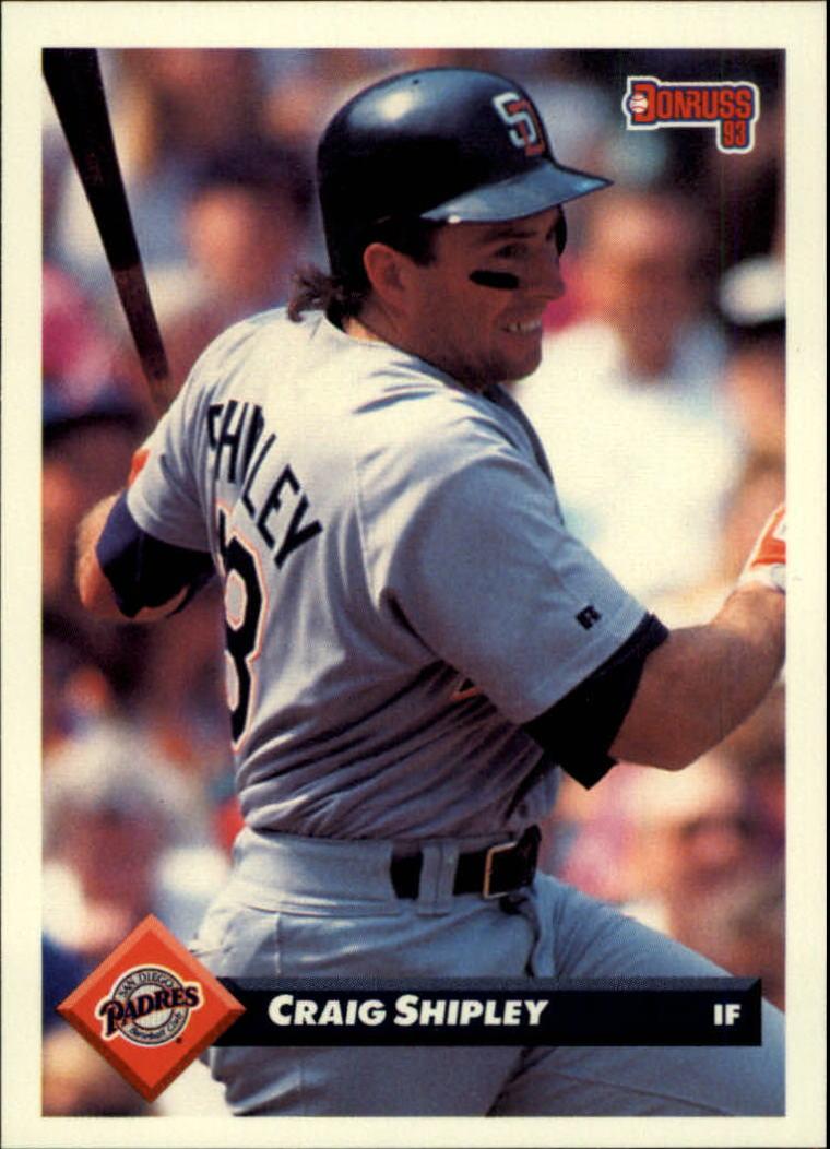 1993 Donruss #206 Craig Shipley