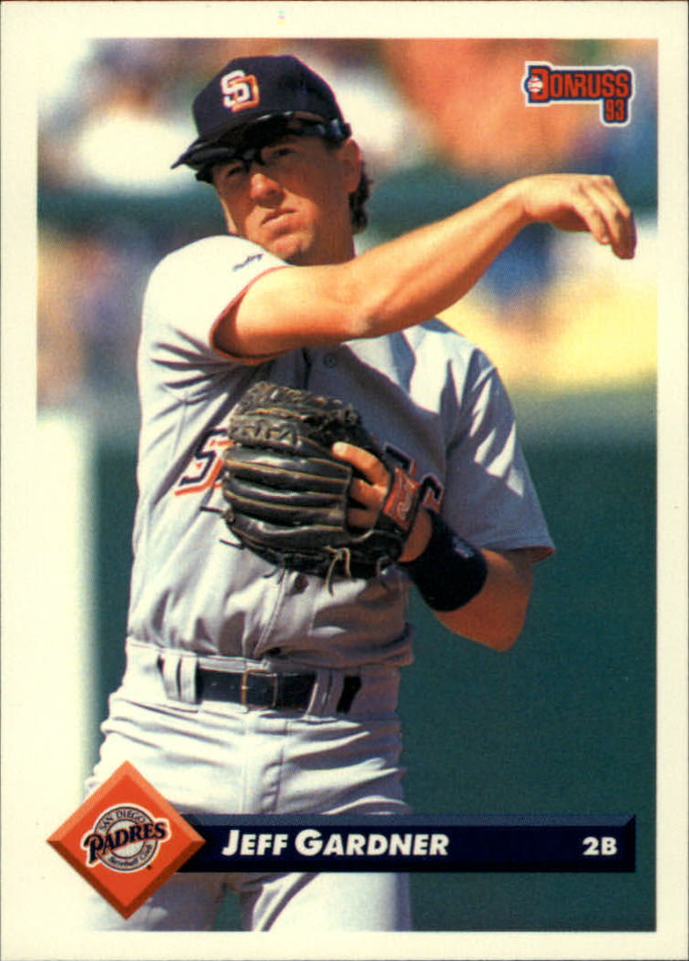 1993 Donruss #470 Jeff Gardner