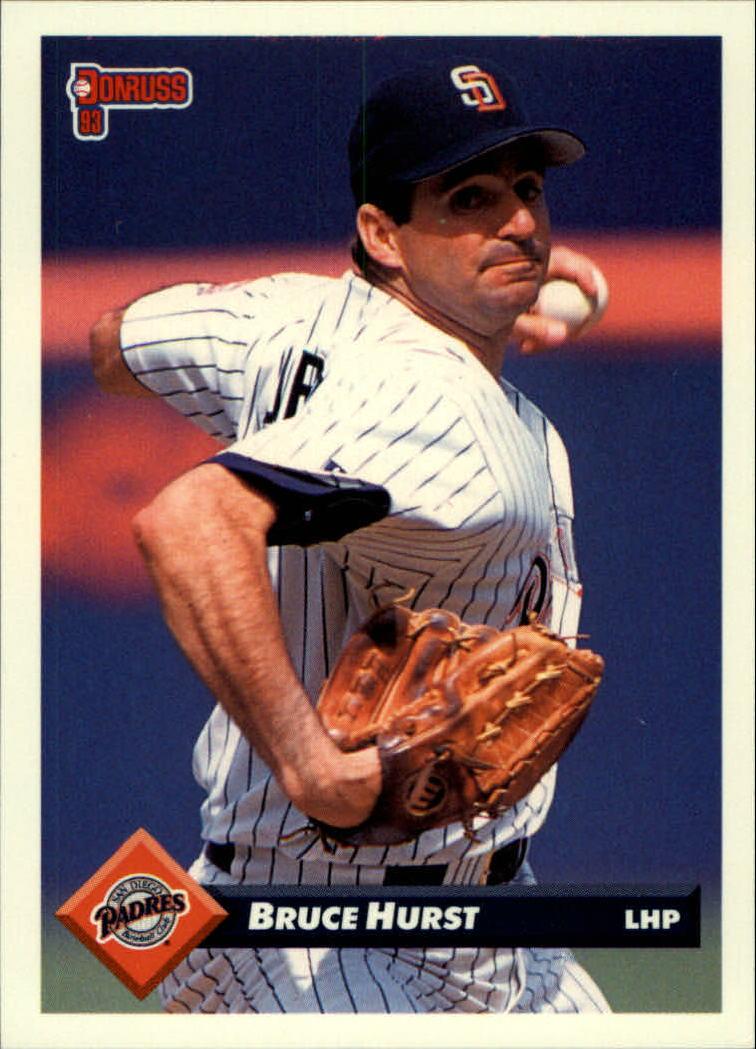 1993 Donruss #576 Bruce Hurst
