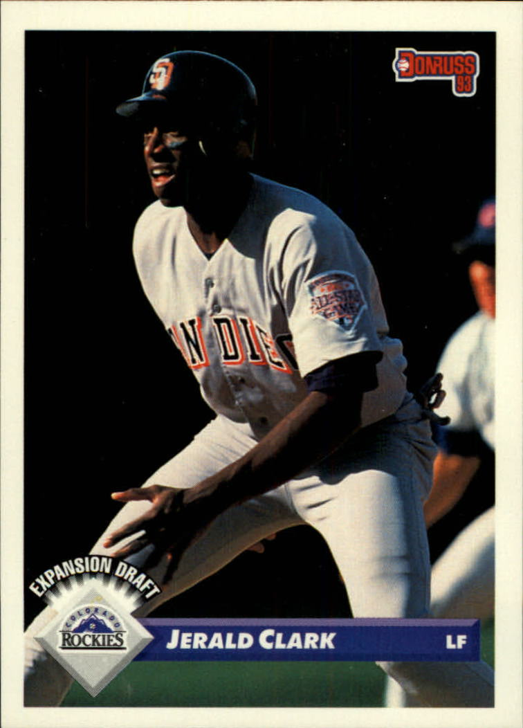 1993 Donruss #790 Jerald Clark