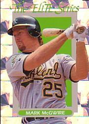1993 Donruss Elite #33 Mark McGwire