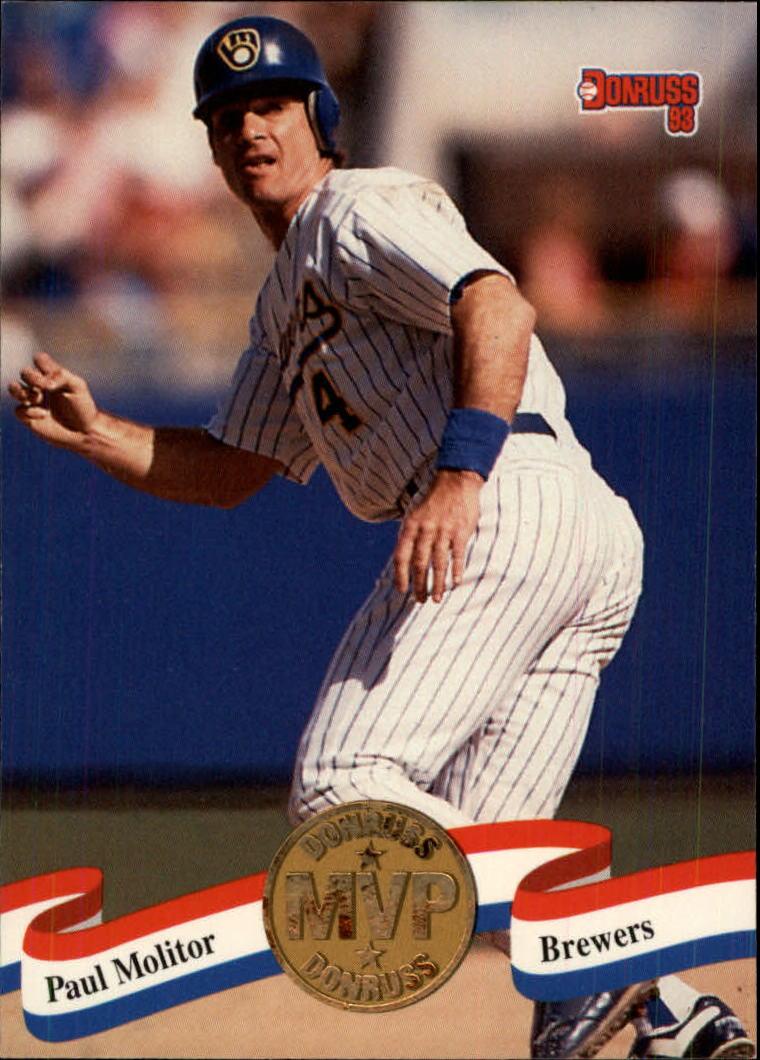 1993 Donruss MVPs #4 Paul Molitor