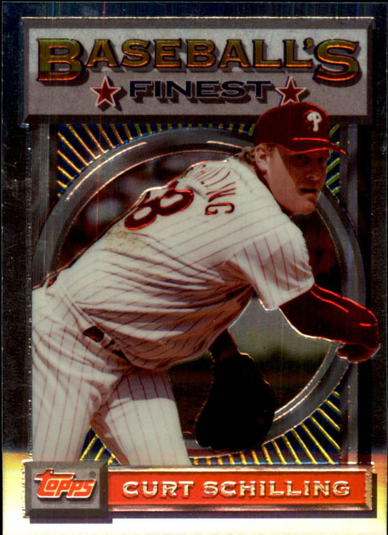 1993 Finest #10 Curt Schilling