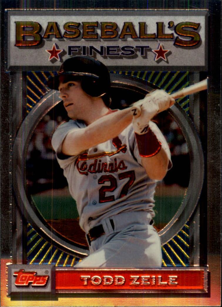 1993 Finest #21 Todd Zeile