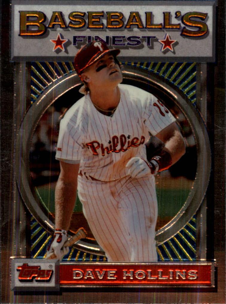 1993 Finest #23 Dave Hollins