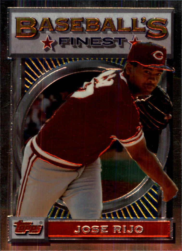 1993 Finest #24 Jose Rijo