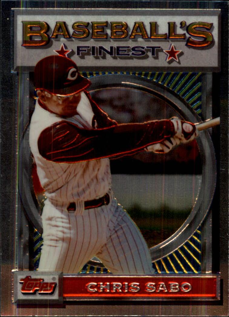 1993 Finest #39 Chris Sabo
