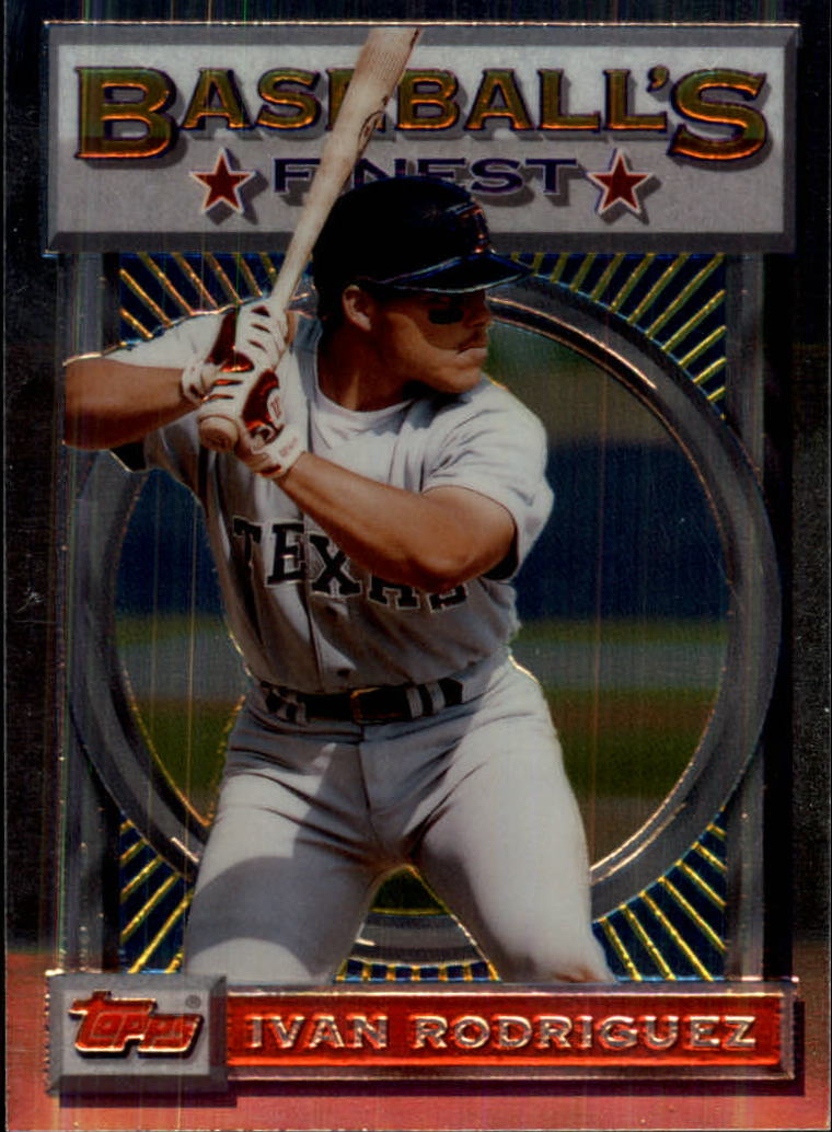 1993 Finest #47 Ivan Rodriguez