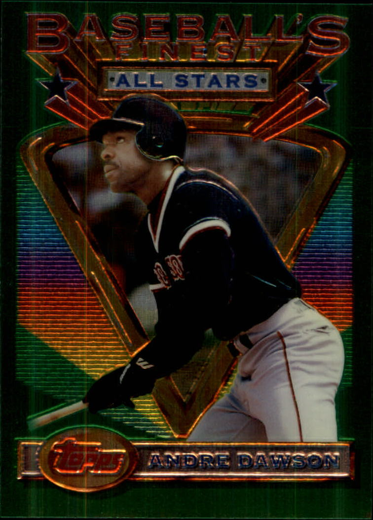 1993 Finest #84 Andre Dawson AS