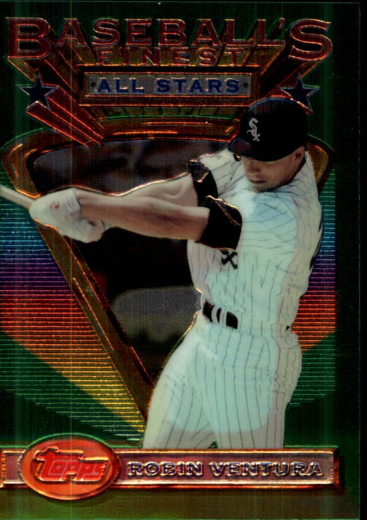 1993 Finest #93 Robin Ventura AS