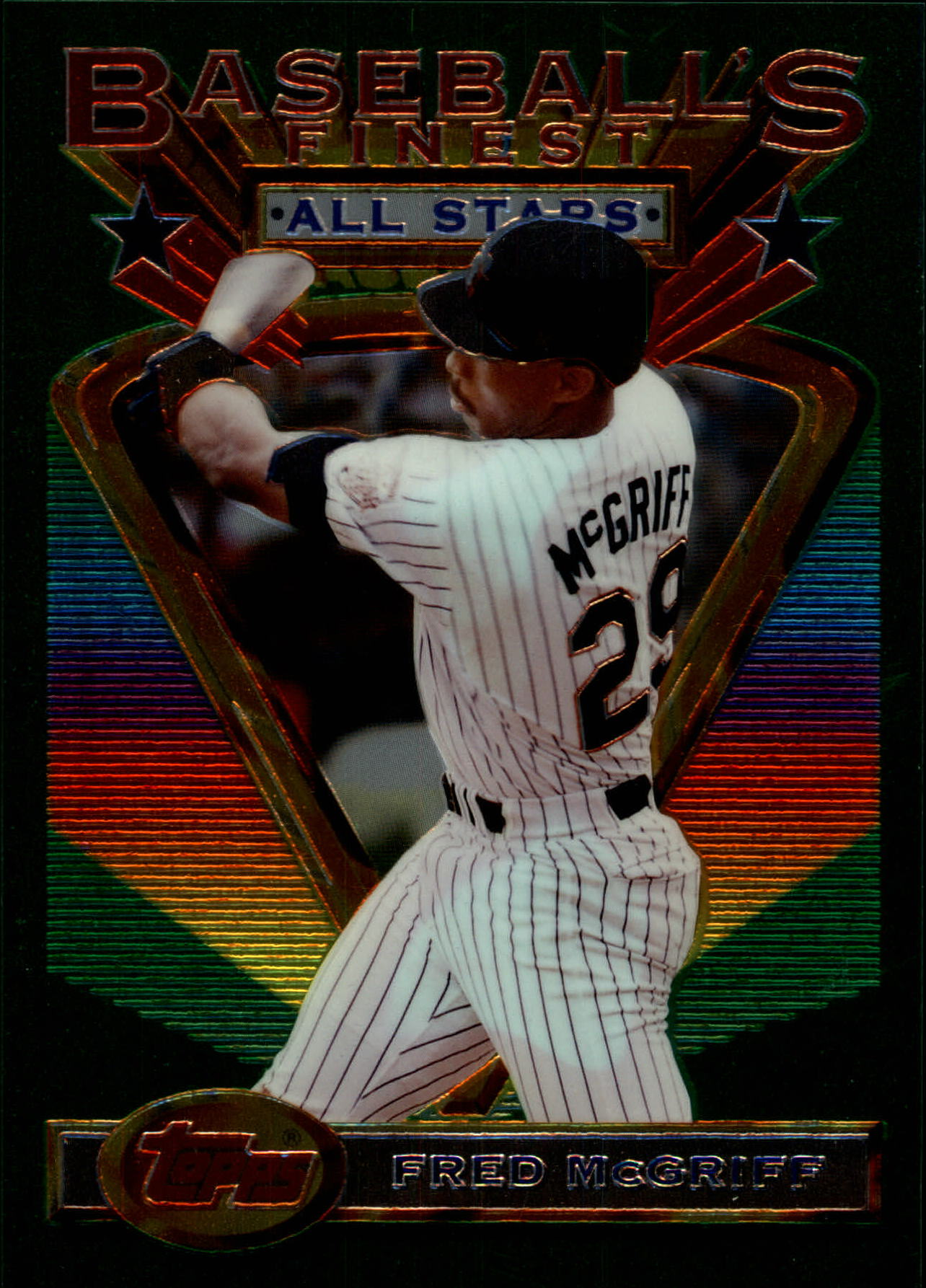 1993 Finest Jumbos #106 Fred McGriff