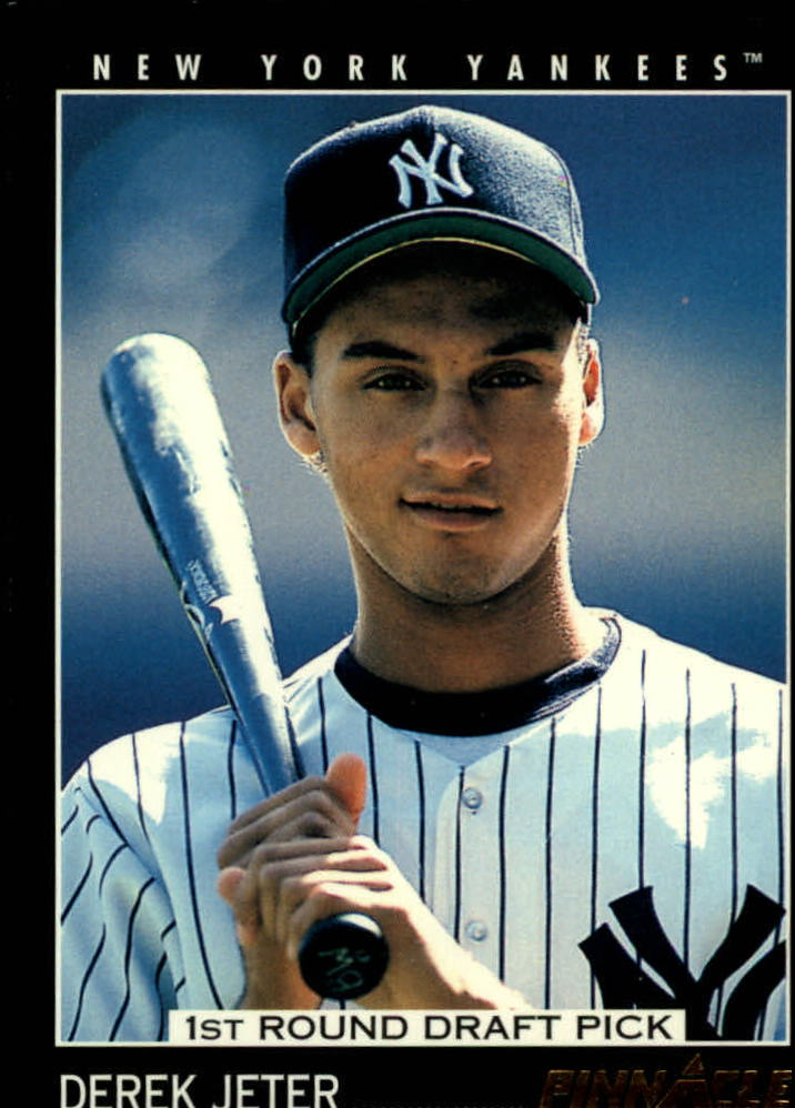 Details About 1993 Pinnacle 457 Derek Jeter Rookie Card
