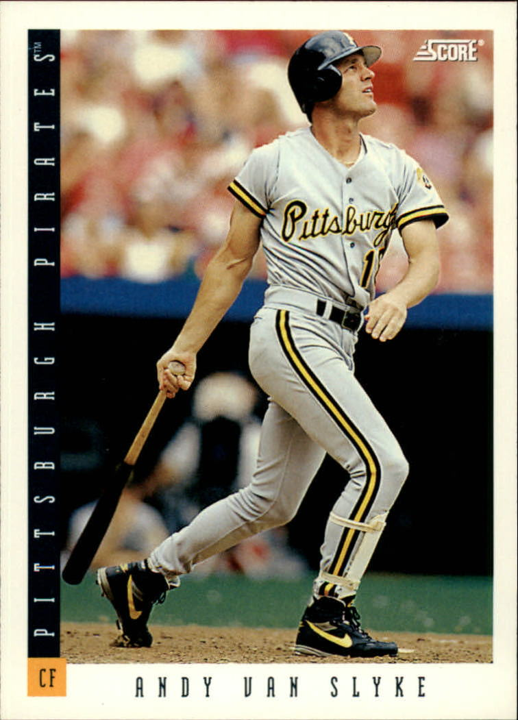 1993 Score #12 Andy Van Slyke