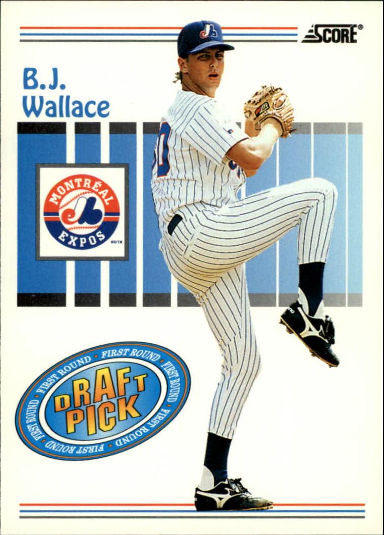 1993 Score #488 B.J.Wallace